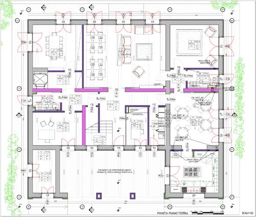 Progetto casa a due piani best villa su due piani con for Piani di casa di villa spagnola